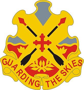 69th Air Defense Artillery Brigade (United States) - Image: 69 ADA Bde DUI