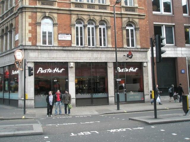 84 Charing Cross Road, London