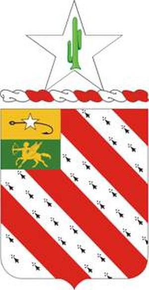 8th Field Artillery Regiment - Coat of arms