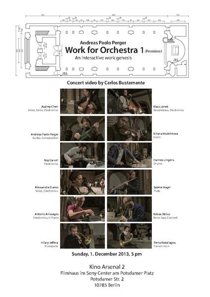 File:A.P.Perger Work for Orchestra 1 Announcement of video premiere.pdf