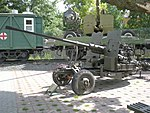 AA-artillery, Military Glory in Homel, Belarus.jpg