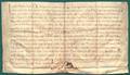 AGAD Boleslaw, ksiaze krakowski i sandomierski, potwierdza przywileje klasztoru benedyktynow na Lysej Gorze.png