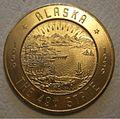 ALASKA, FAIRBANKS -1959 ALASKA STATEHOOD YEAR DOLLAR TOKEN 1959 b - Flickr - woody1778a.jpg