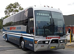 Busabout Wagga Wagga - Austral Pacific Classic III in Fearnes Coaches livery in December 2008