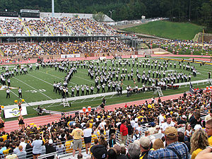 English: Appalachian State University Marching...