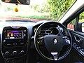 A 2013 Renault Clio IV Dynamique instrument cluster 2.jpg