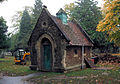 A Gothic Building In Teddington Cemetery, London.jpg