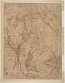A River God (recto); Sketches for the Vestibule of the Laurenziana, Florence (verso) MET DP807711.jpg