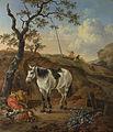 A White Horse standing by a Sleeping Man, Pieter Verbeeck.jpg