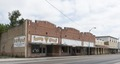 A downtown block, including a casket company, in Rio Grande City in Starr County, Texas LCCN2014631827.tif