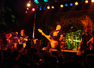 Aborted - Aborted performing live at 2007's Coolness'tival.