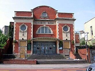 Grade II listed buildings in Bristol - Image: Academy Cinema Bristol