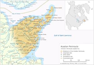 Acadian Peninsula - The Acadian Peninsula