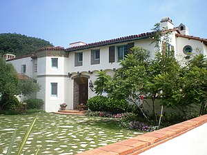 California Historical Landmarks in Los Angeles County, California - Image: Adamson House, Malibu