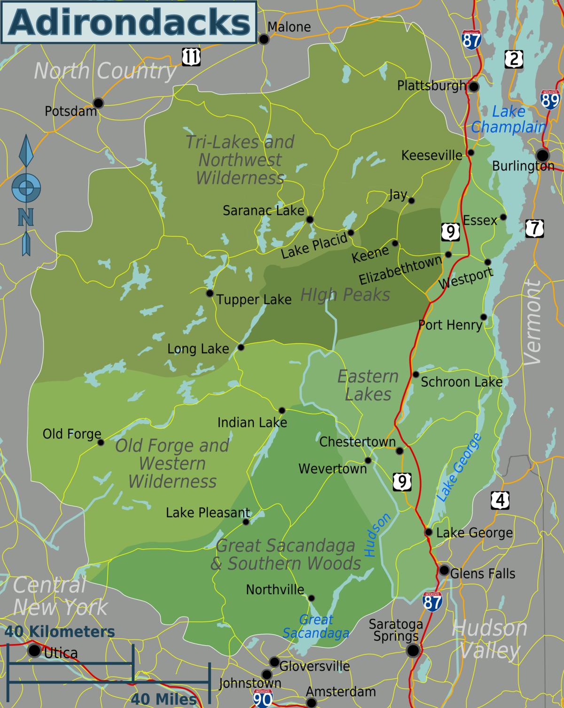 Adirondacks  Travel Guide At Wikivoyage