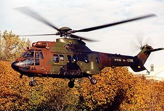 Eurocopter AS332 Super Puma - A French Army AS332 Super Puma, 1999.