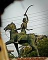 Agra 64 - Rani Lakshmi Bai Statue (28054945868).jpg
