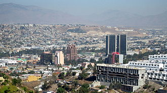 Municipalities of Baja California - Image: Aguacaliente skyscrapers 4