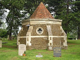 Thomas Bruce, 1st Earl of Elgin - The Ailesbury Mausoleum, Maulden Churchyard, Bedfordshire, built by Thomas Bruce, 1st Earl of Elgin, in memory of his 2nd wife Diana Cecil. One of the earliest free-standing mausoluems built in England