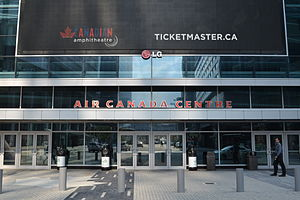 Air Canada Centre - Gate 5 entrance off Maple Leaf Square