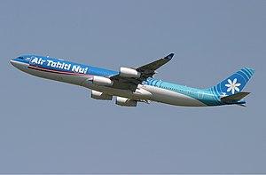 Air Tahiti Nui - Air Tahiti Nui Airbus A340-300