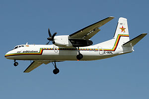 Air Zimbabwe Xian MA60 Smith-1.jpg