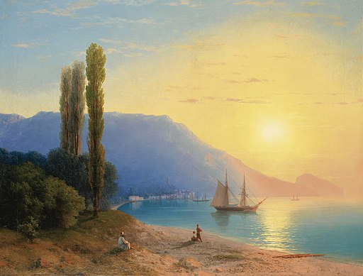 Aivazovsky Sunset over Yalta