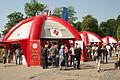 Akcija Kupujmo hrvatsko 2011, Čakovec - šator1.jpg