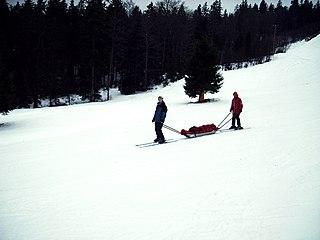 Rescue toboggan rescue sled