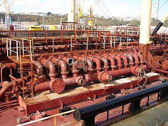 Chemical tanker - Image: Al Farabi chemical tanker 2