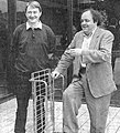 Alain Meilland Jacques Villeret tournée la contrebasse 1993.jpg