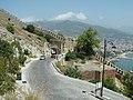 Alanya - Weg vom Hafen-Roten Turm zur Nordbastion Bilck zum Vorfestungstor - panoramio.jpg