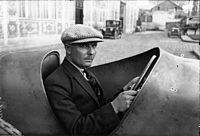 Albert Divo vid Frankrikes Grand Prix 1924
