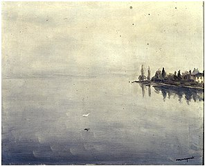 Brouillard sur le Lac Léman