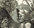 Albrecht Dürer detail 1513 - Knight, Death and Devil.jpg