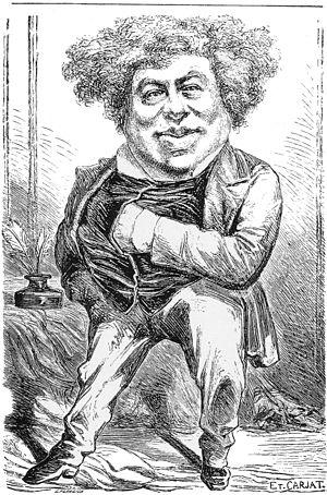 Étienne Carjat - Image: Alexandre Dumas 11