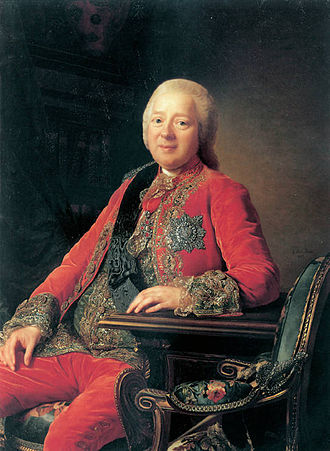 Nikita Ivanovich Panin - Portrait by Alexander Roslin, 1777
