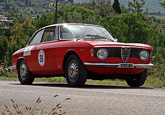 Alfa Romeo 105/115 Series Coupés - 1965 Alfa Romeo Giulia Sprint GT