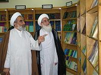 Ali Akbar Ilahi and Hossein Noori Hamedani - august 30 2005 at Mashhad.jpg