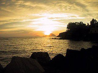 Island in Messina, Italy