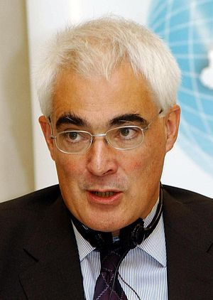 2008 United Kingdom bank rescue package - Alistair Darling, Chancellor of the Exchequer in 2008.