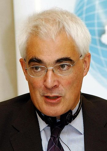 English: Alistair Darling, British politician ...