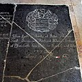 All Saints Church, Brandon Parva, Norfolk - Ledger slab - geograph.org.uk - 807729.jpg