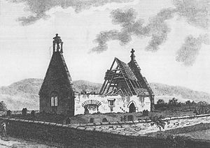 William Burnes - Alloway Kirk at the time of Robert Burns.