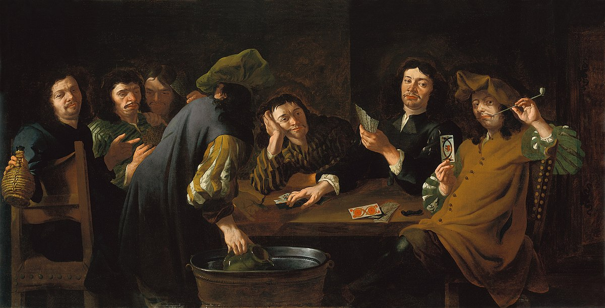 Which Artist Painted The Painting The Card Players