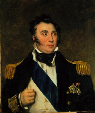 Charles Napier (Royal Navy officer) - Portrait of Admiral Sir Charles Napier, c. 1834 by John Simpson, Museu Nacional Soares dos Reis
