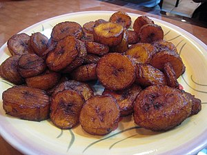 Ivorian cuisine - Alloco (fried banana)