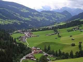 Alpbachtal valley