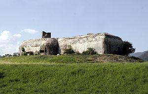 Alpine Brigade Orobica - Alpine wall bunker in Mals