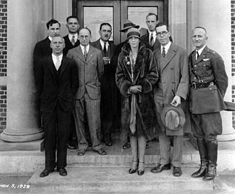 Fred Weick - 1928 – Weick in rear with Amelia Earhart